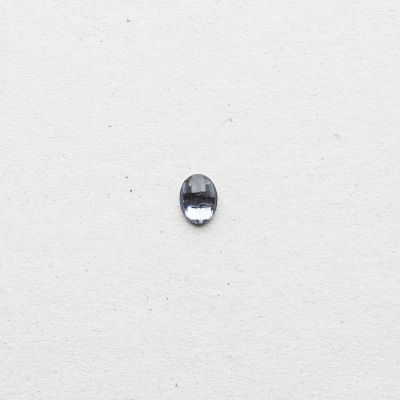Facettenstein oval