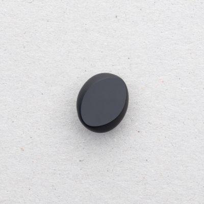 Glasknopf oval