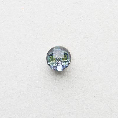 Glasknopf rund
