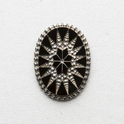 Schmuckstein oval
