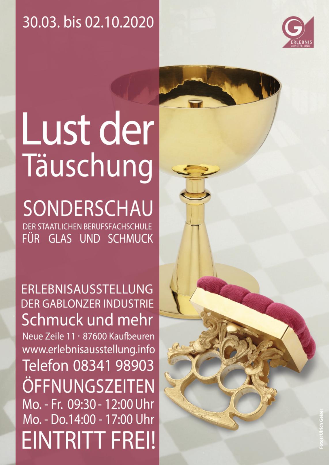 Sonderschau LUST DER TÄUSCHUNG (verlängert bis 26.02.2012)