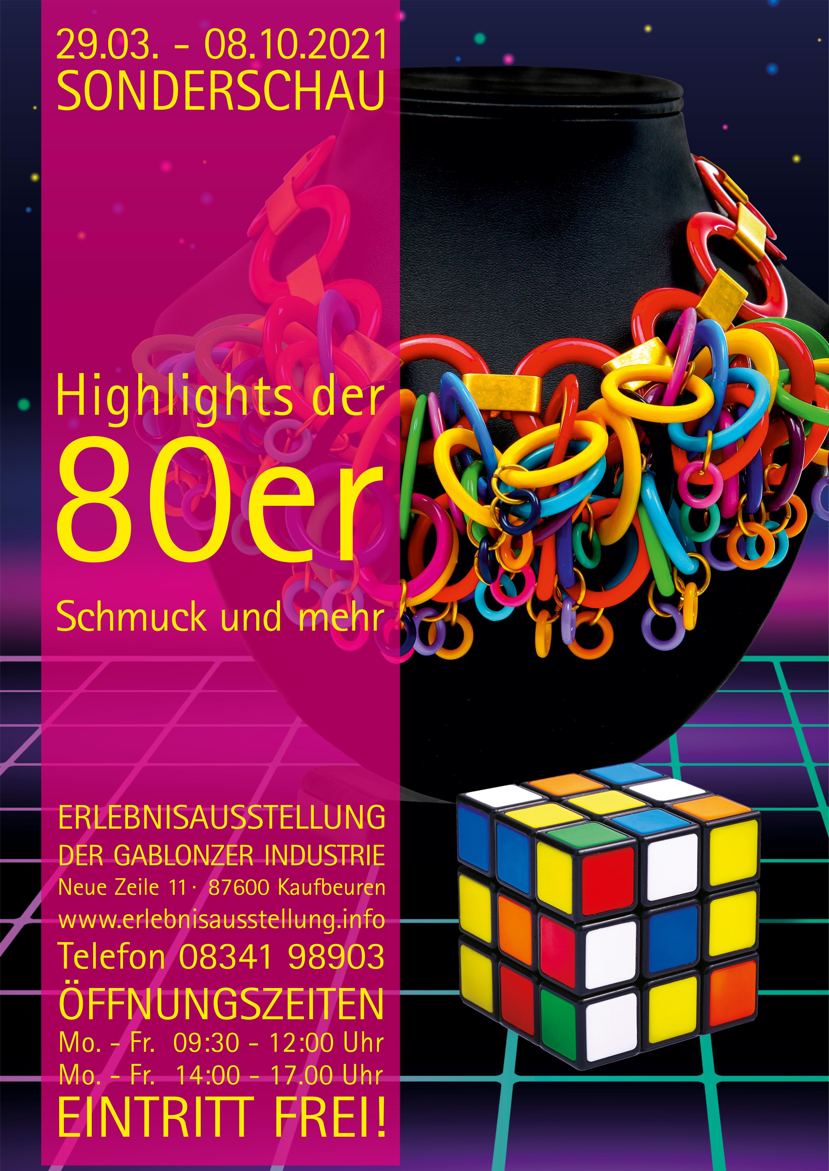 HIGHLIGHTS DER 80er - Schmuck und mehr